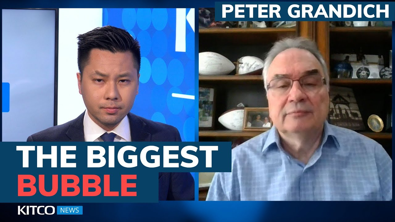 This is the biggest bubble of all time, and it's going to 'haunt us' – Peter Grandich (Pt. 1/2)