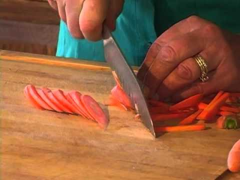 How to Matchstick Carrots