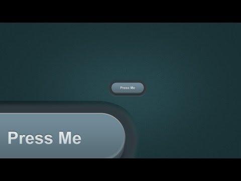 Simple 3D Pill Button - Photoshop Tutorial