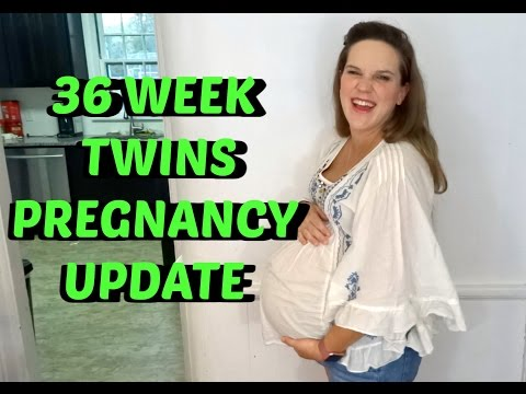 36 WEEK TWINS PREGNANCY UPDATE