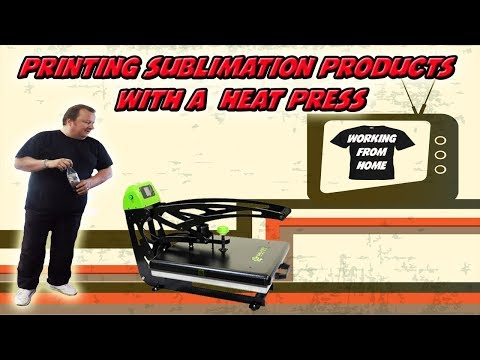 Sublimation Products With A  Heat Press How to Grow your Business