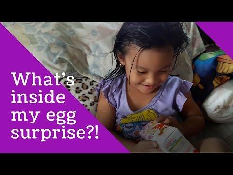 Kinder Joy Egg Surprise 3's I Playtime with Eleina