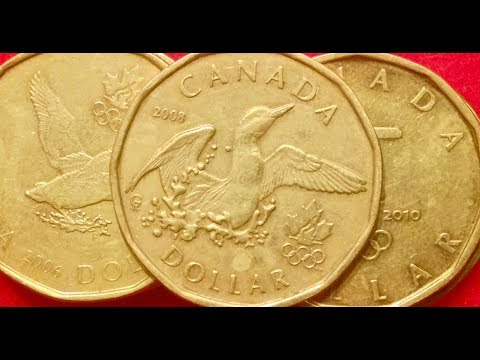 Rare Canadian Dollar Coins - Only 5-11 Million Produced