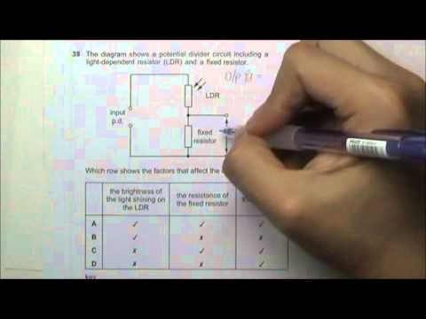 2010 O' Level Physics 5058 Paper 1 Solution Qn 36 to 40