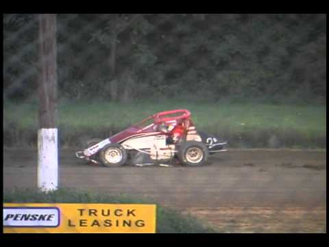 How Not To Drive A SprintCar..
