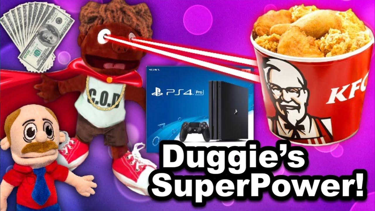 SML Movie: Duggie's SuperPowers!