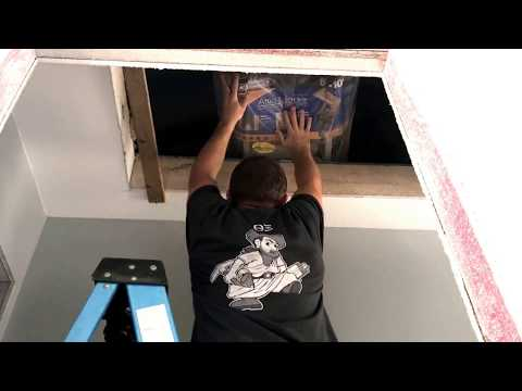 Installing Werner Attic Ladder Kit