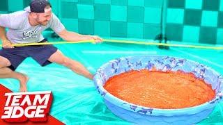 Pudding Tug of War Challenge!!