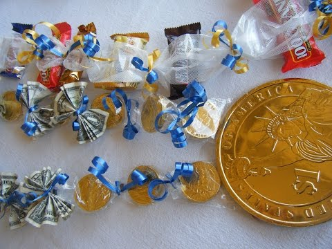 Graduation Candy Leis | Chocolate Coins and Money Lei  🌿