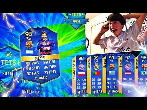 INSANE TOTS PACK OPENING!!! Fifa 15 ultimate team IOS/Android