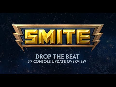 SMITE - 5.7 Console Update Overview - Drop the Beat