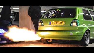 Fast & Furious 8 premiere meet || CRAZY ANTI LAG, HUGE FLAMES || OG Films