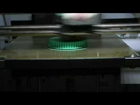 3d printing gears on the xyz Da Vinci