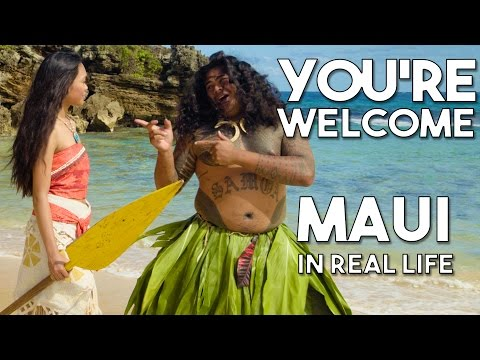 Maui's You're Welcome from Disney's Moana/Vaiana | Official WWL