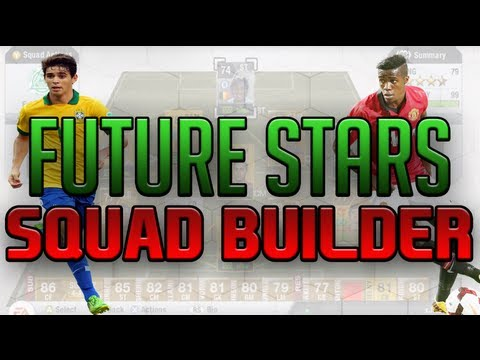 Fifa 13 Future Stars Squad Builder - 99 Chemistry The best future players!
