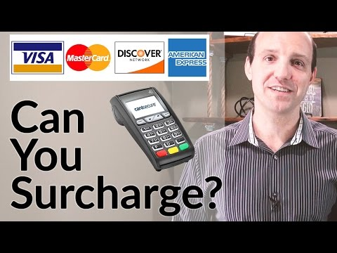 Merchant Surcharge Fee - Can You Charge A Convenience Fee on Credit Card Purchases