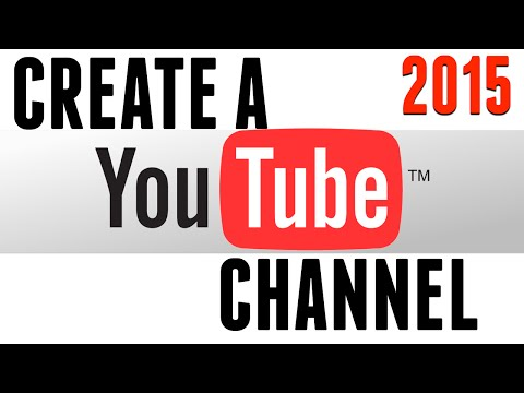 How to create a Youtube channel on your iPad - 2015