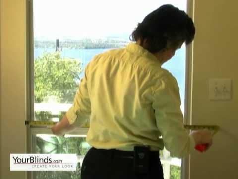 Measuring for Roller Shades - Inside Mount - YourBlinds.com DIY