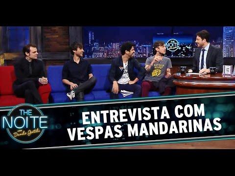 """Vespas Mandarinas foram ao """"The Noite com Danilo Gentili"""""""