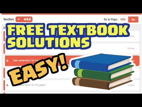 Get Homework Answers & Textbook Solutions for FREE Instantly! ALL SUBJECTS!