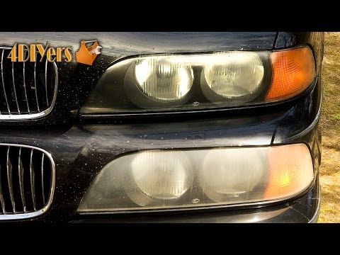 DIY: How to Polish Headlights with Toothpaste