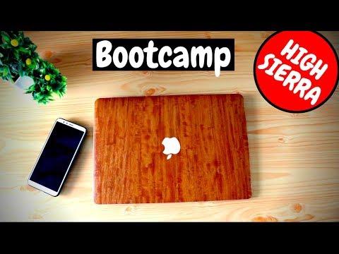 how to install windows 10 bootcamp high sierra