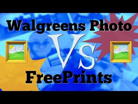 Walgreens Photo VS FreePrints. Which Is Better? Photo Printing Review!