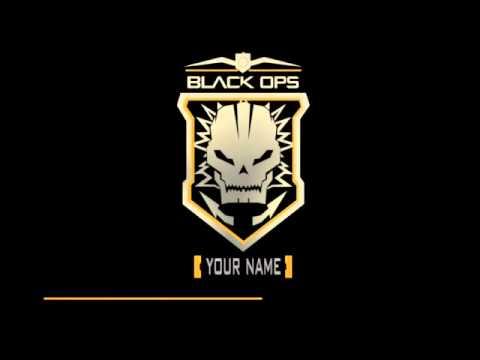 Blender Intro template CoD Black Ops 2