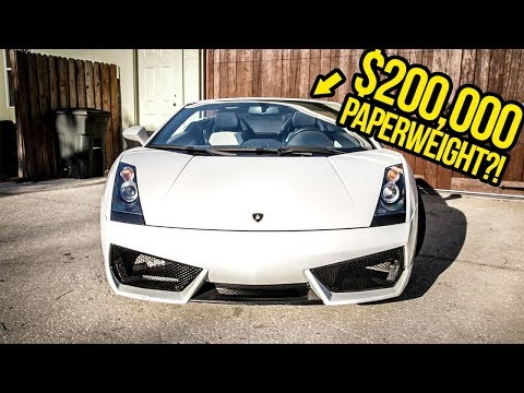 Here's The Stupid Reason Why My Cheap Lamborghini Can't Move