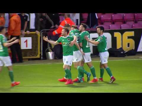 Kieran Sadlier scores goal from his own box for Cork City