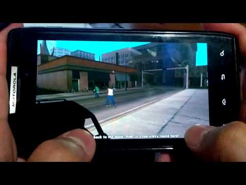 GTA San Andreas Motorola Droid Razr XT912