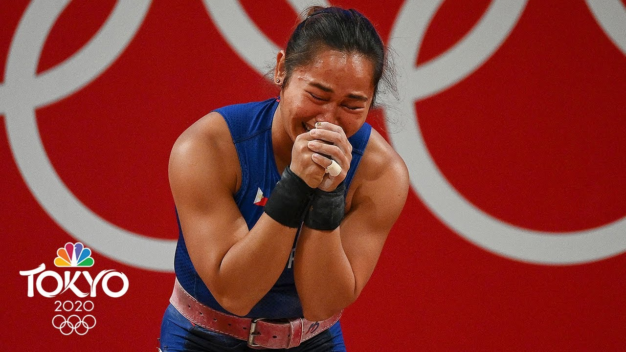 Hidilyn Diaz wins the Philippines' first-ever Olympic gold medal | Tokyo Olympics | NBC Sports