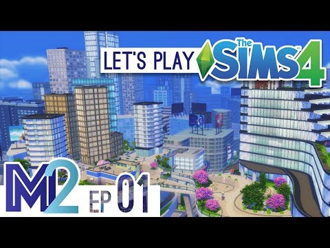 Let's Play The Sims 4 - City Living Twins! (Eden-Cho Season 3 Ep 1)
