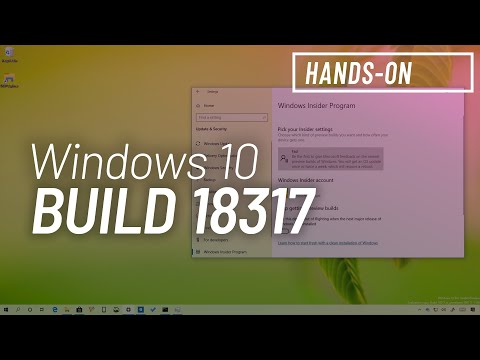 Windows 10 build 18317: Cortana and Search split up, new Insider settings, and more