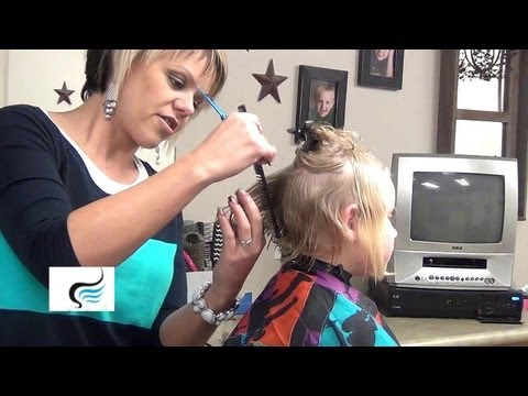 How To Cut (A-Line Bob Haircut) for Little Girls Hairstyles