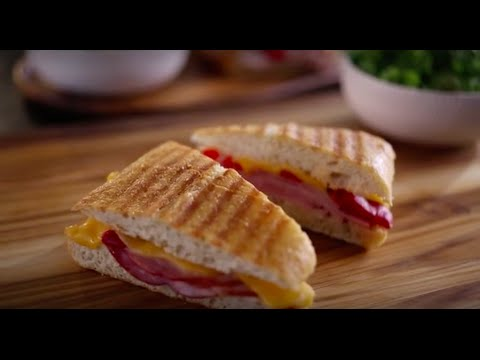 Boar's Head SmokeMaster® Black Forest Ham & Roasted Red Pepper Panini