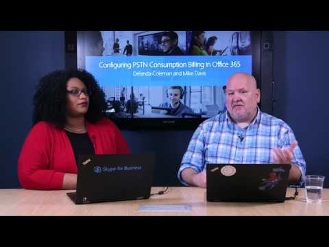 SfB Broadcast: Ep. 42 Configuring PSTN Consumption Billing in O365