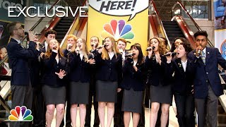 NBC at New York Comic Con Featuring an A Cappella Mashup of Comedy Theme Songs (Digital Exclusive)
