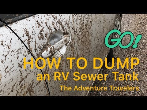 How to Empty an RV Sewage Tank
