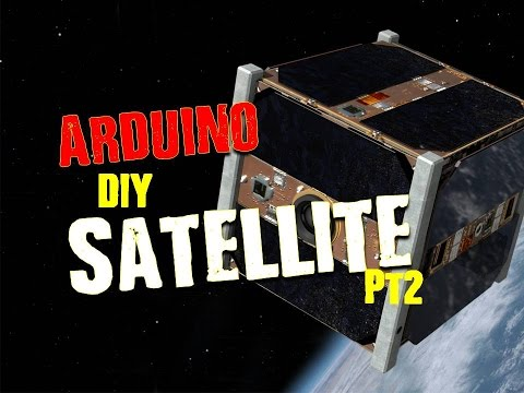 Let's make a Satellite with Arduino Part 2-  CubeSat Components Overview