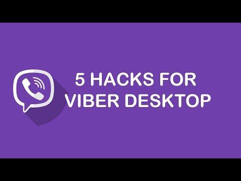 5 HACKS FOR VIBER DESKTOP