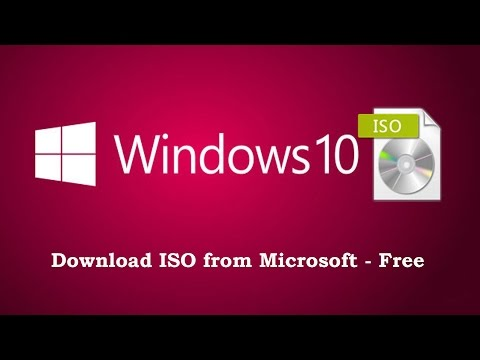 Download Windows 10 ISO From Microsoft - Direct Link