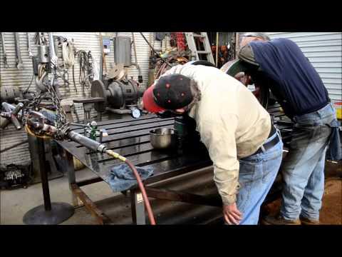 Honing Fairbanks Morse ZC-118 Engine