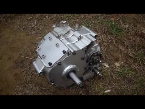 Turning ATV engine in to standalone transmission