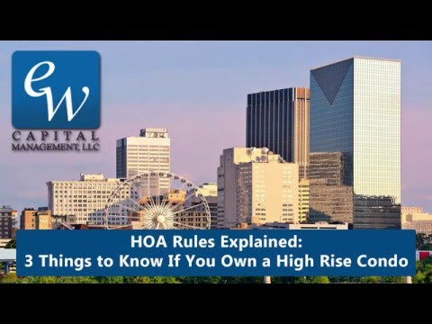 Atlanta HOA Rules Explained: 3 Things to Know if You Own a Condo in Atlanta