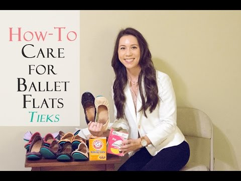 How To Care for your Ballet Flats (Reduce Odor/Sweat Marks) - Tieks Ballet Flats Review Series