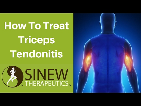 How To Treat Triceps Tendonitis and Speed Recovery