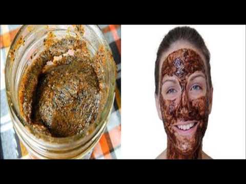 Homemade facial scrub for Dry skin