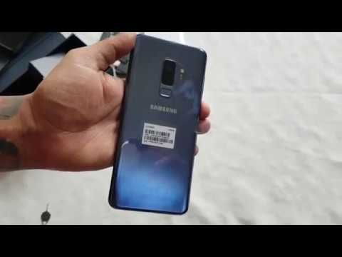 Samsung Galaxy S9 Plus Coral Blue 128GB Exynos 9810 Unboxing