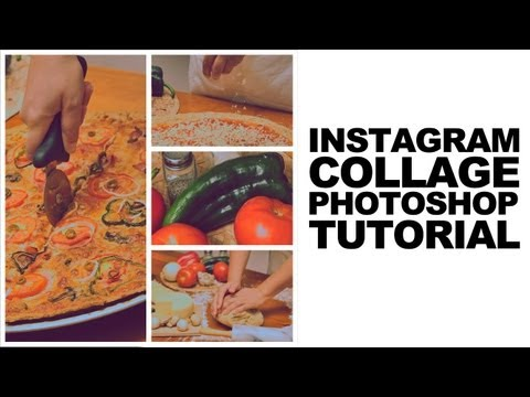 Photoshop Tutorial: How to create an Instagram Style Photo Collage